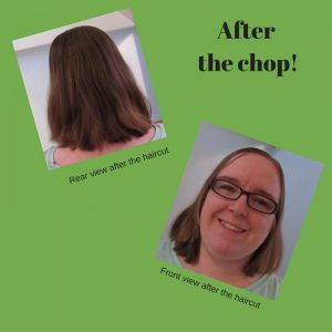 Living Creatively with Fibro | Hair after Creaclip cut