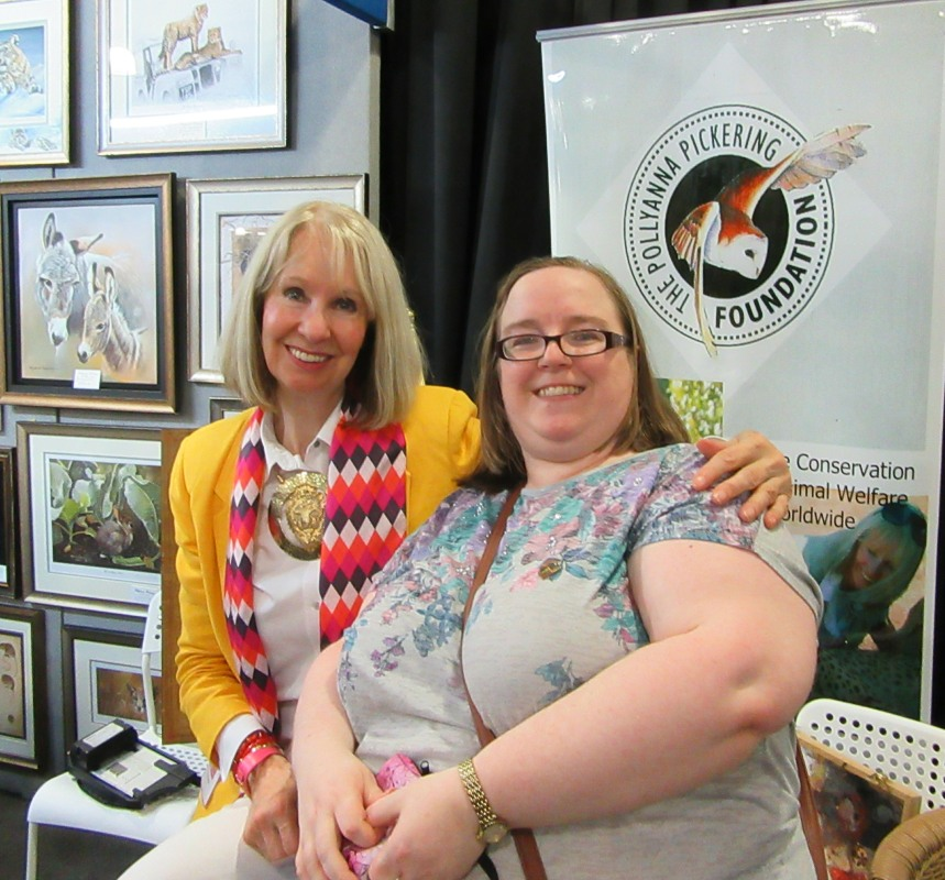 Living Creatively with Fibro | Pollyanna Pickering and I