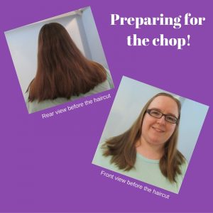 Living Creatively with Fibro | Long hair before Creaclip cutting