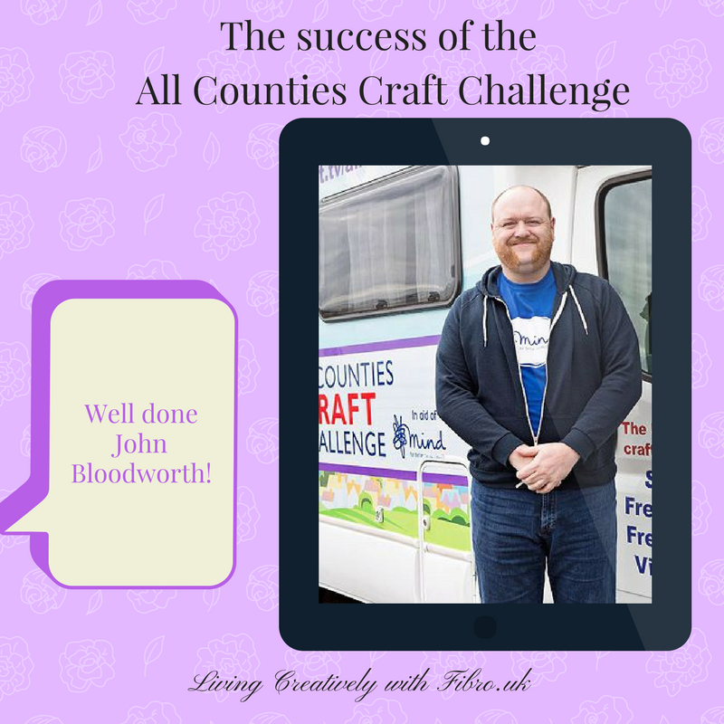 Updated: The success of John Bloodworth's All Counties Craft Challenge
