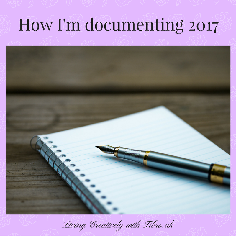 How I'm going to Document the Year – 2017