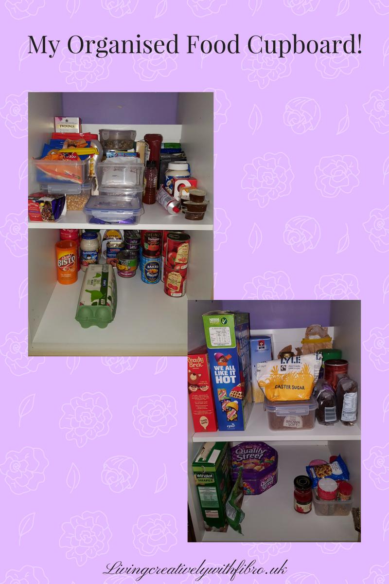 My Organised Food Cupboard