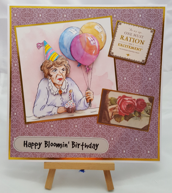 Gramps and Downton Birthday Card
