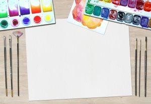 Living Creatively with Fibro | An art desk