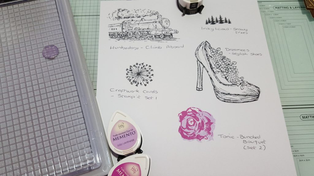Living Creatively with Fibro   Testing the Stamping Platform