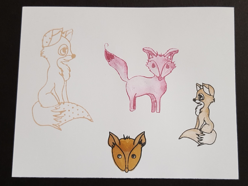 Living Creatively with Fibro | Dreamees Fantastic Fox