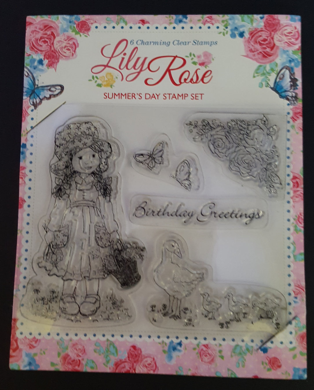 Lily Rose Stamp Set