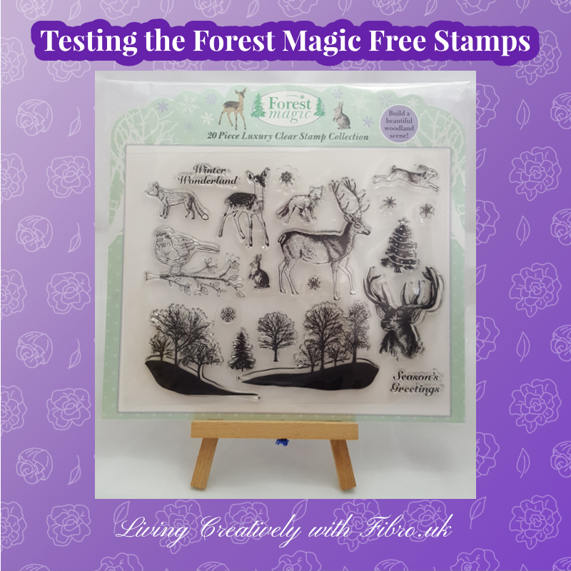 Testing the Forest Magic Stamp Collection