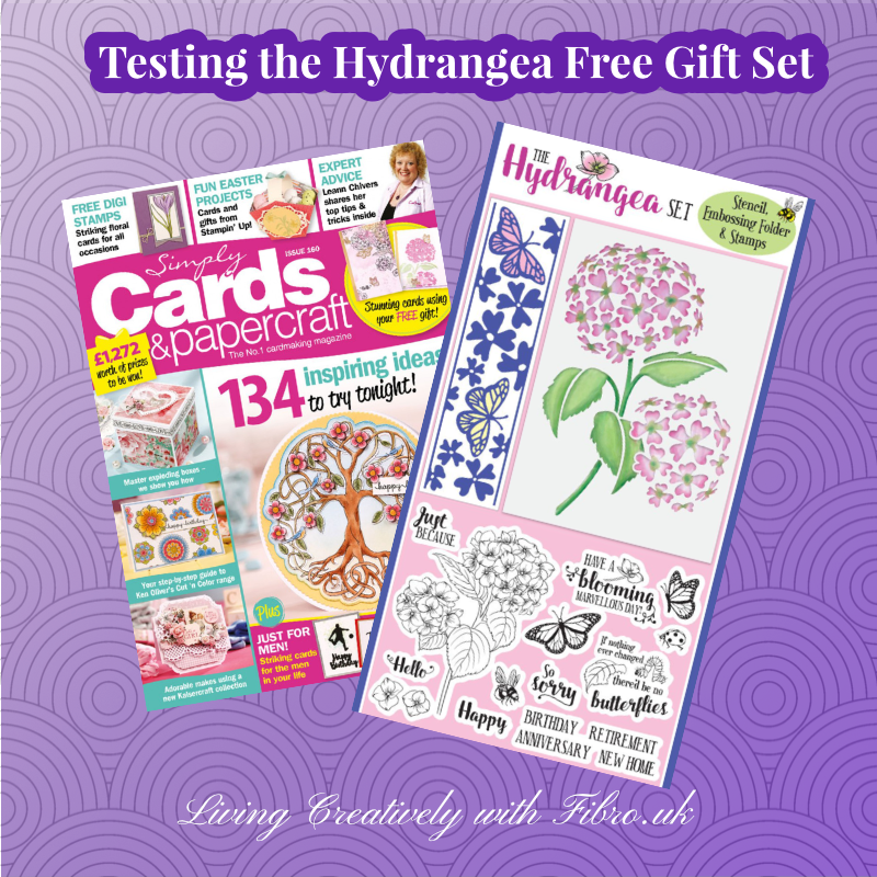 Testing the Hydrangea Free Gift Set