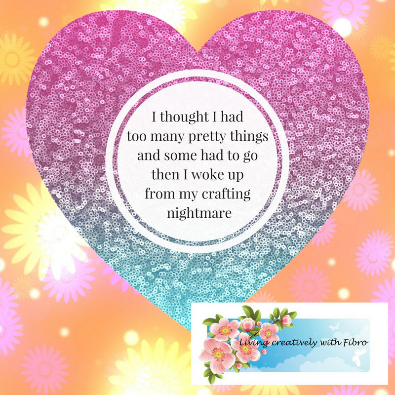 Living Creatively with Fibro | Too Many Pretty Things