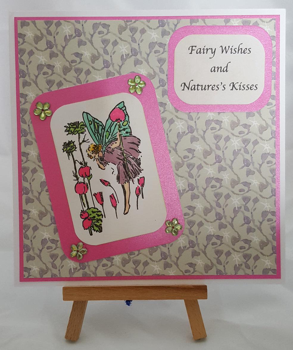 Fairies of Spring Card 1