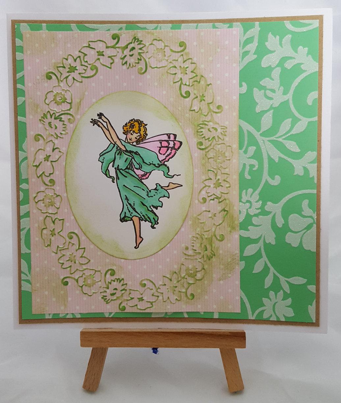 Fairies of Spring Card 3