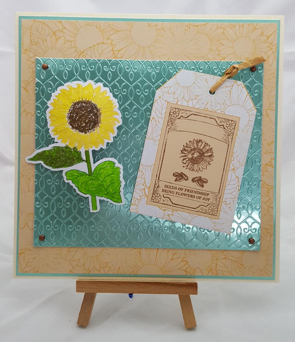 Sunflower Dreams Card