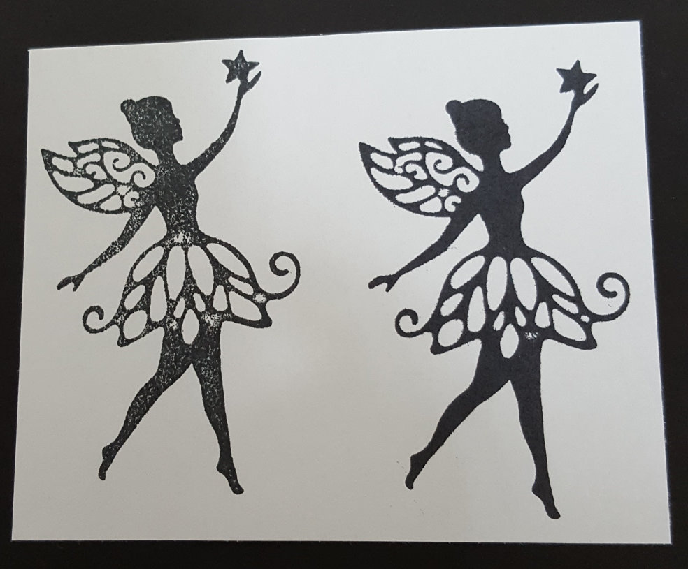fairy Dust stamped