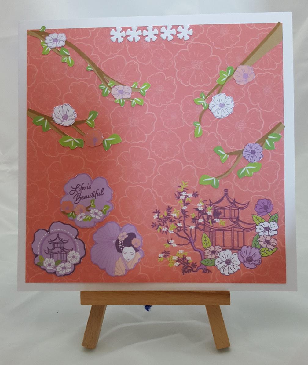Cherry Blossom Joy Card
