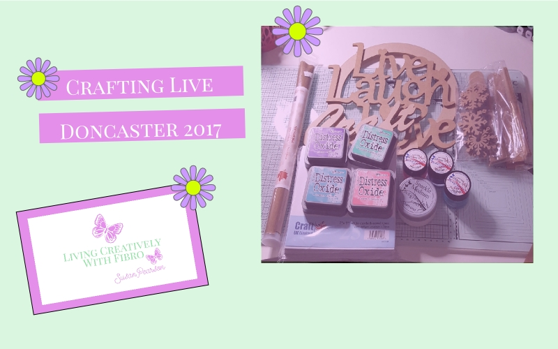 Living Creatively with Fibro | Crafting Live 2017