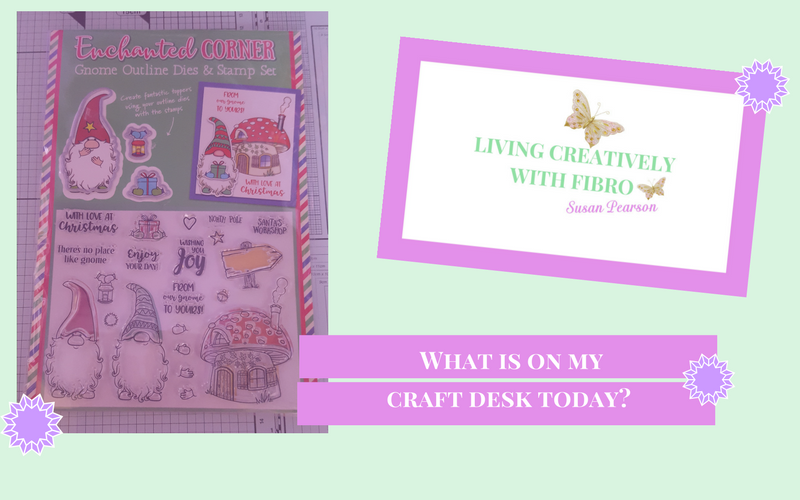Living Creatively with Fibro | Enchanted Corner on Craft Desk