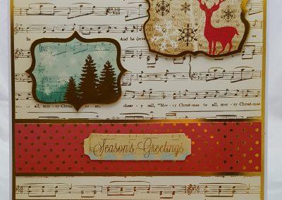 Festive Flourishes Card 1