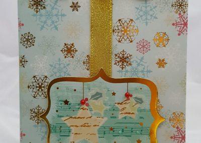 Living Creatively with Fibro | Festive Flourishes Card 2