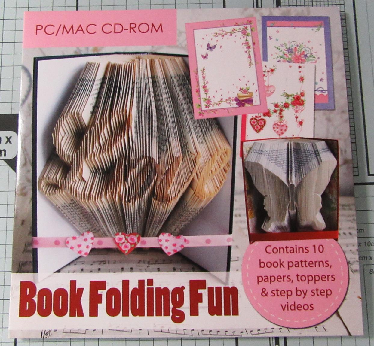 Living Creatively with Fibro | Book Folding Fun