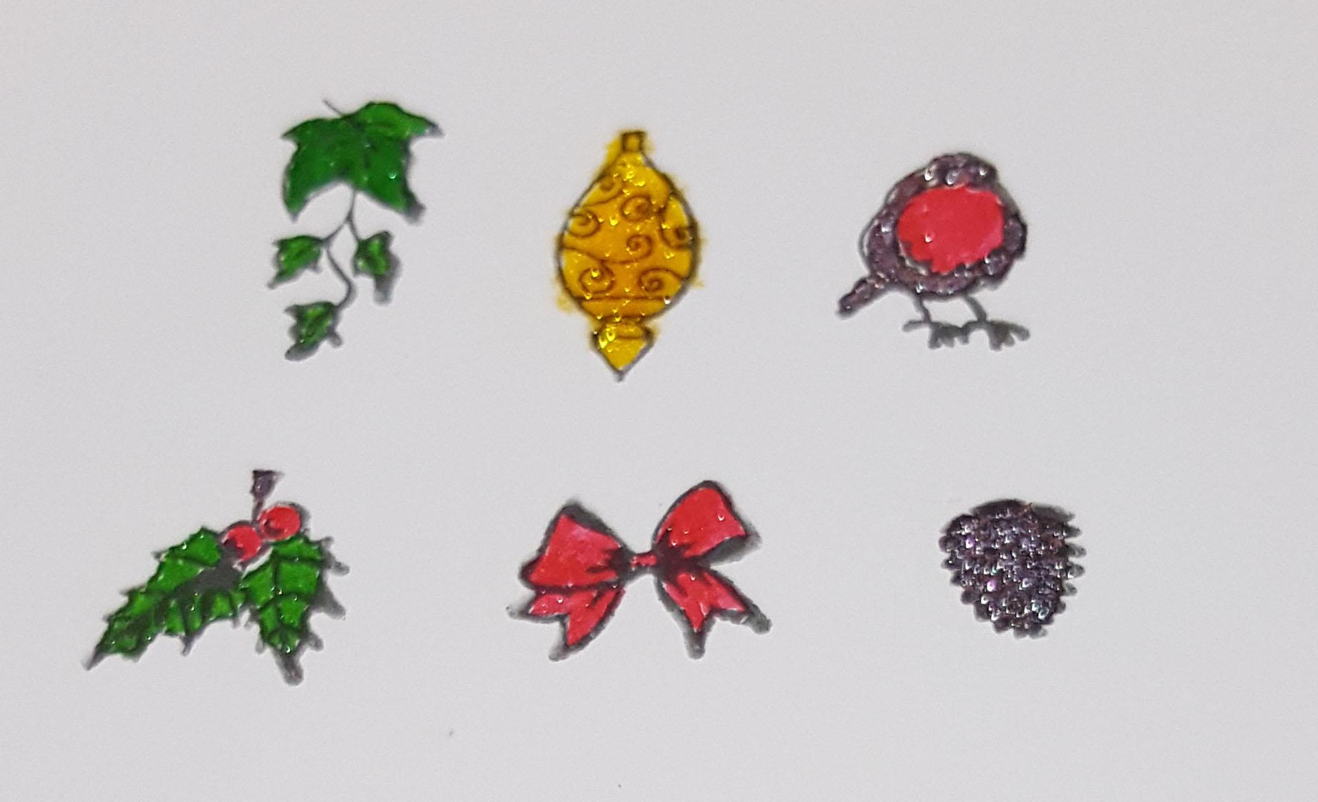Build a Wreath Coloured