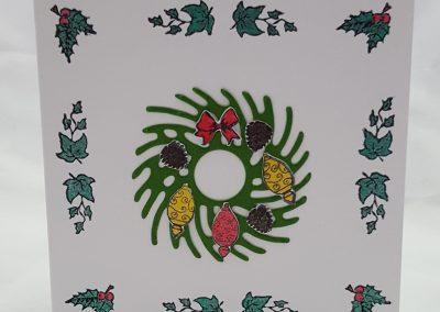 Build a Wreath Complete Card