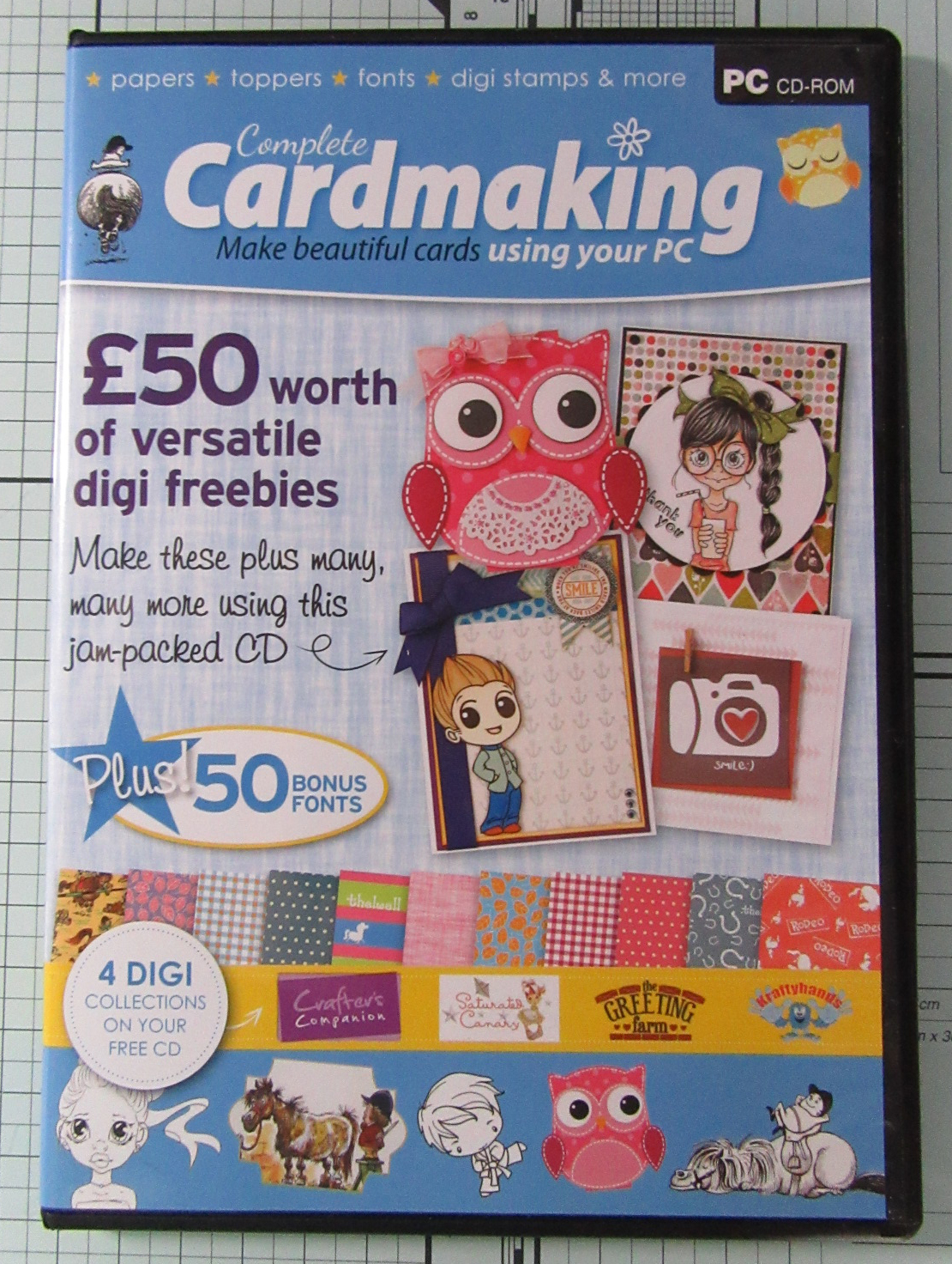 Living Creatively with Fibro | Complete Cardmaking Collection