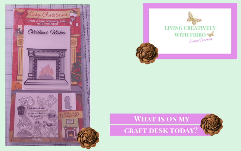 Living Creatively with Fibro | Cosy Christmas on Craft Desk