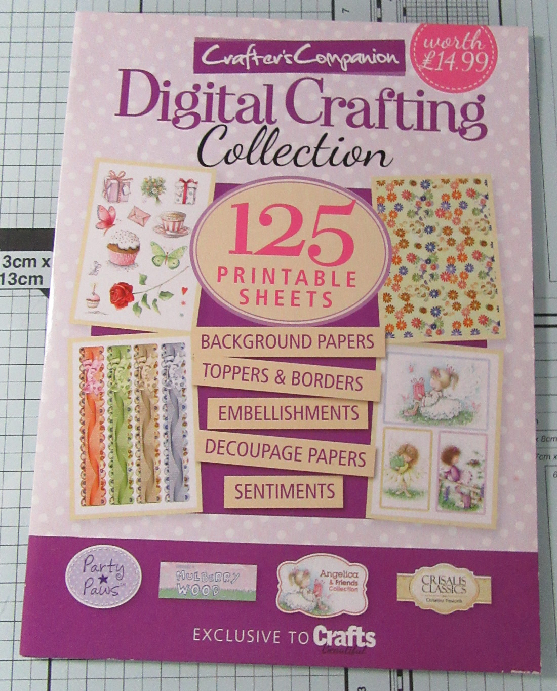 Living Creatively with Fibro Z Crafters Companion Collection