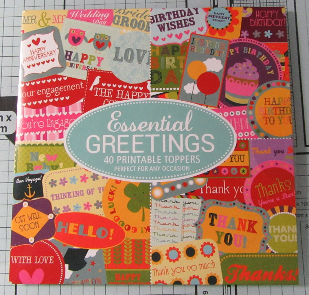 Living Creatively with Fibro | Essential Greetings Toppers