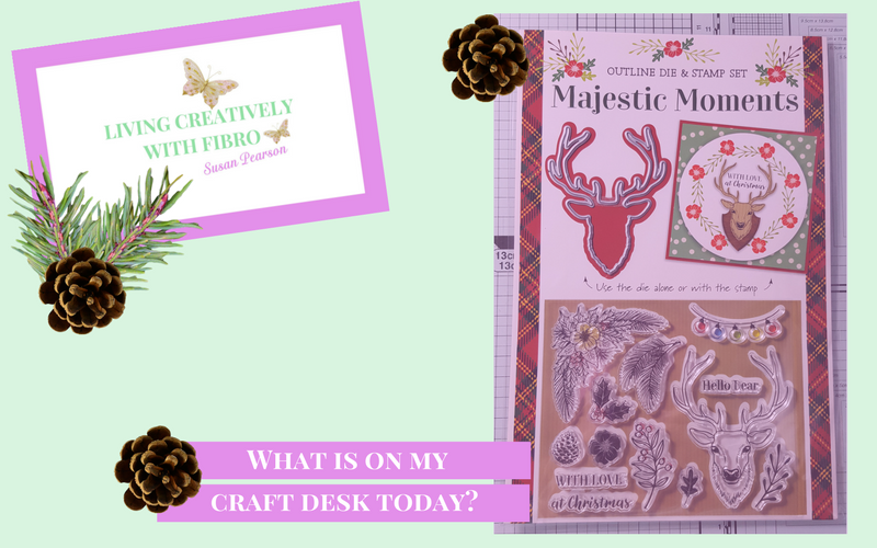 Living Creatively with Fibro | Majestic Moments on Craft Desk