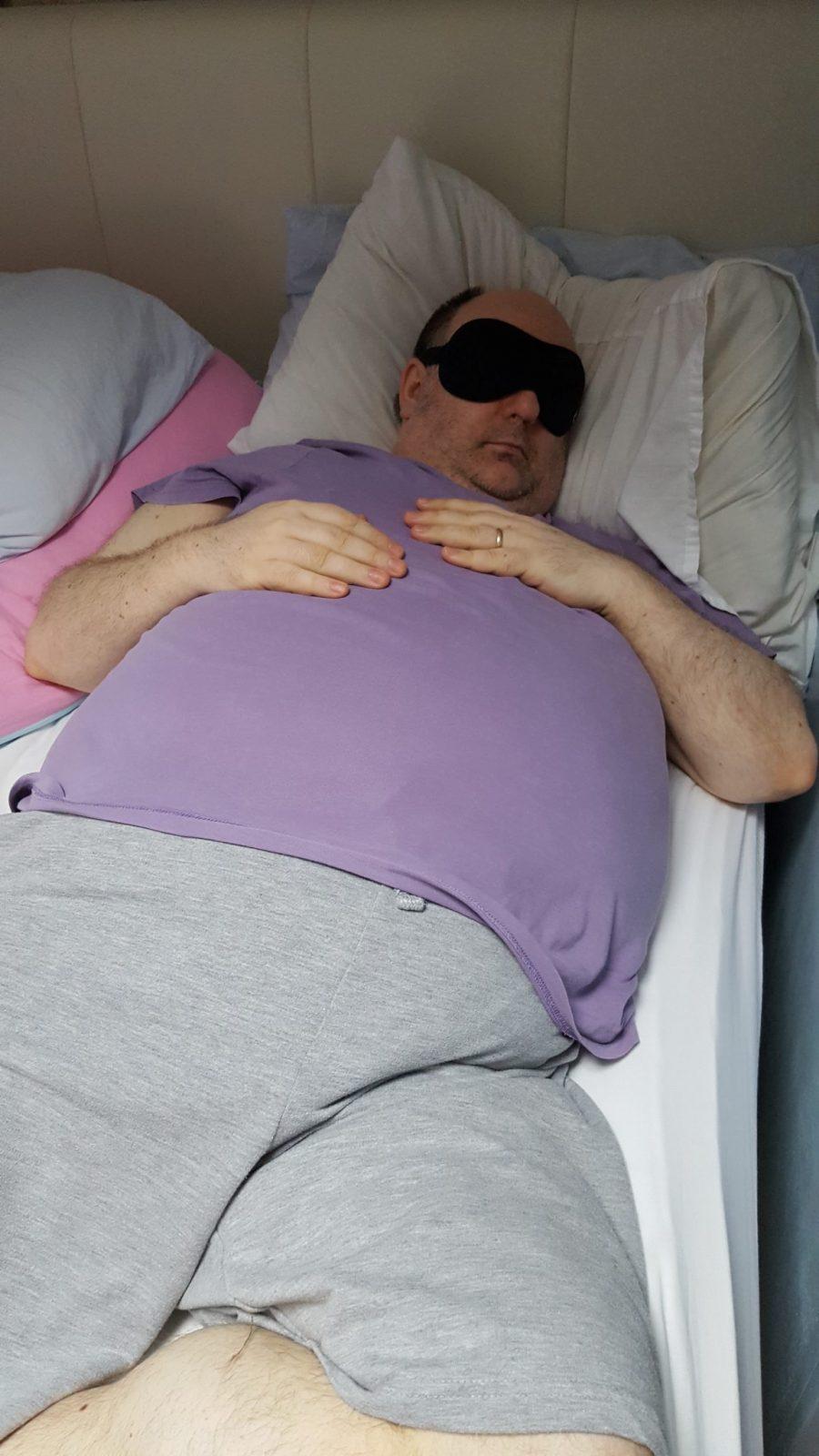 Michael asleep