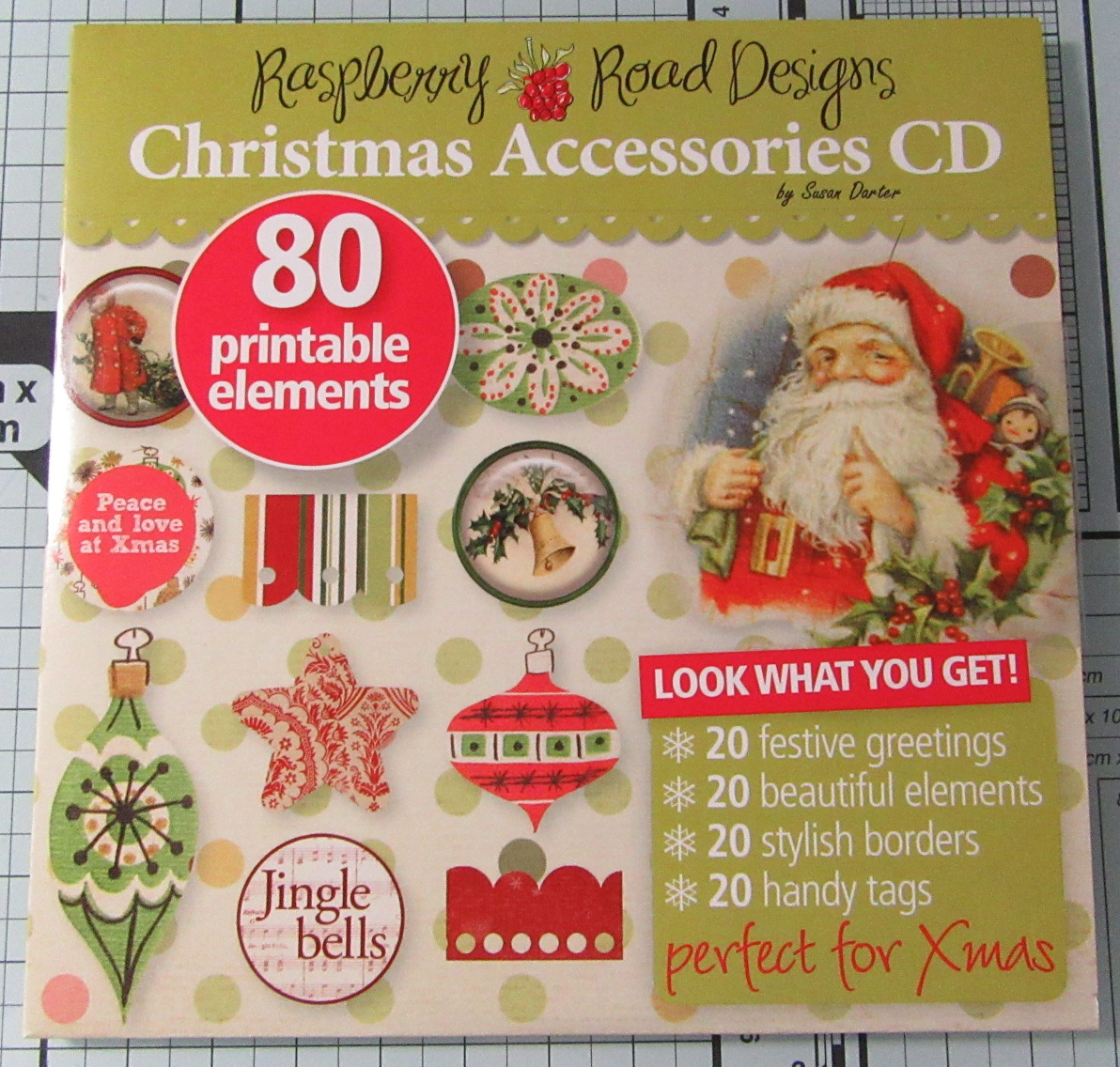 Living Creatively with Fibro | Raspberry Road Christmas Accessories