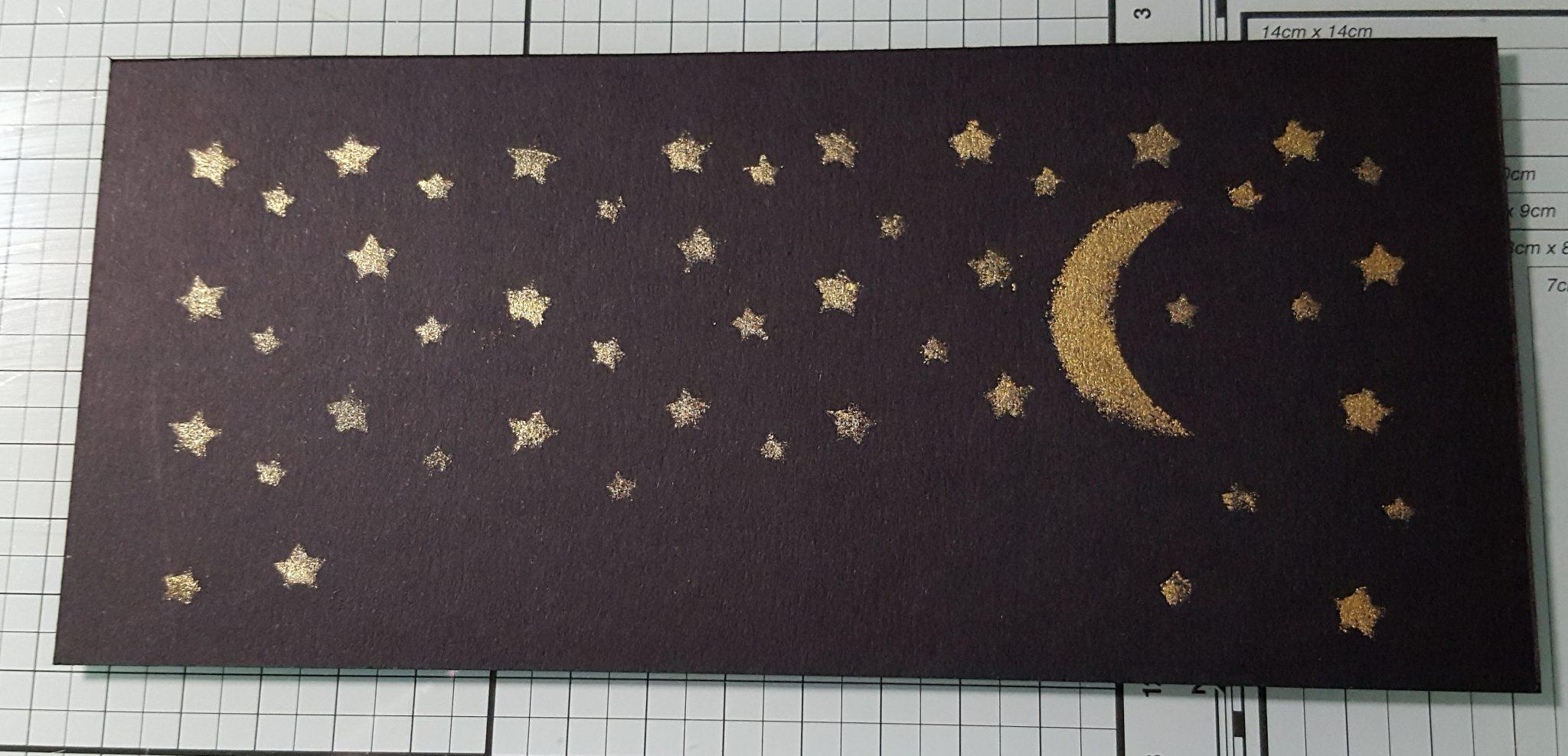 Starry Night Glittering Stars