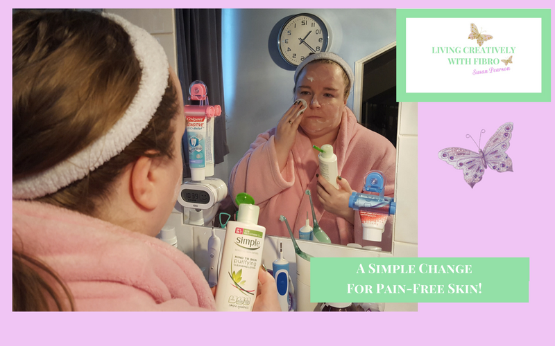 Living Creatively with Fibro | A Simple Change for Pain-free Skin