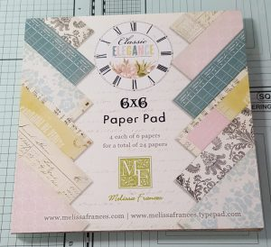 Living Creatively with Fibro | Classic Elegance Paper Pad