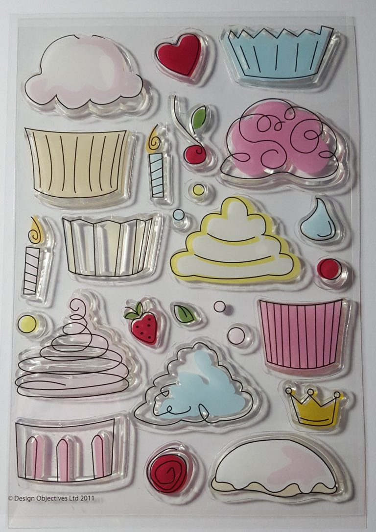 Living Creatively with Fibro DoCrafts Papermania Cupcakes