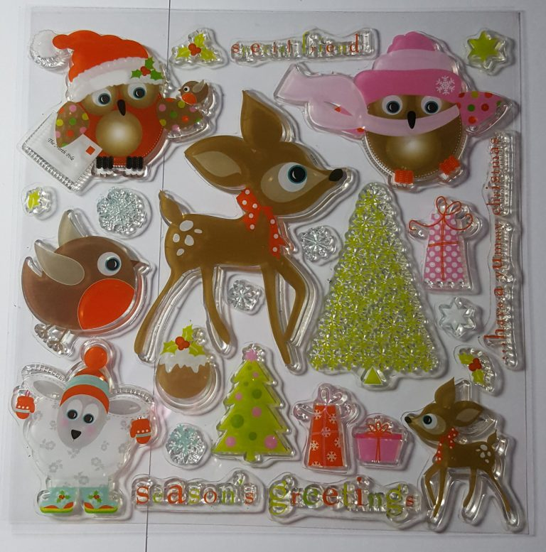 Living Creatively with Fibro | DoCrafts Papermania Seasons Greetings