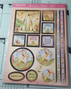 Living Creatively with Fibro | Furry Tales Papercraft Kit