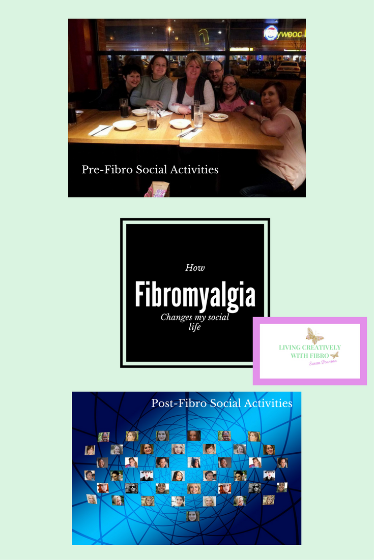 How Fibro Changed my social activities