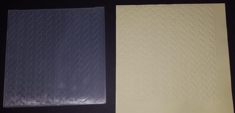 Living Creatively with Fibro | Leaves Embossing Folder