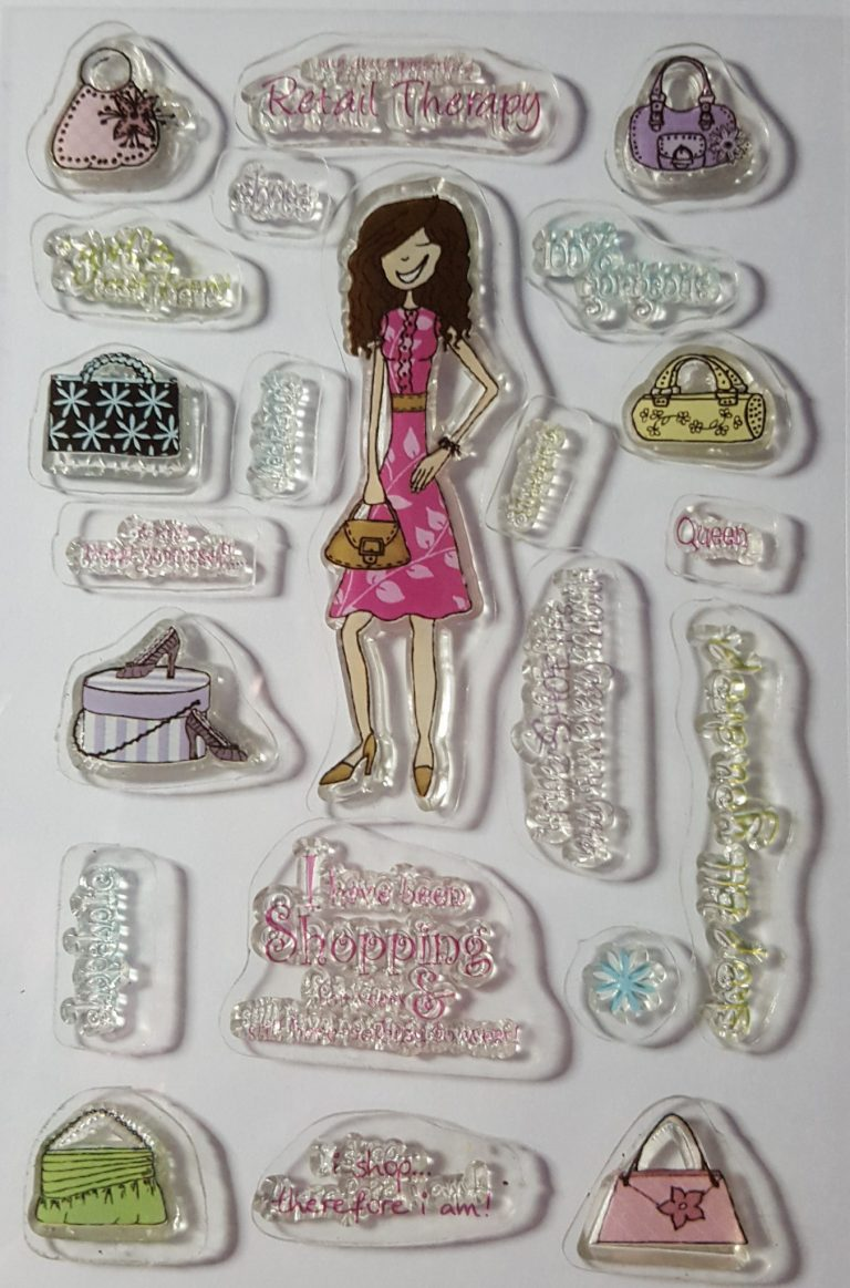 Living Creatively with Fibro | Papermania Born to Shop Retail Therapy