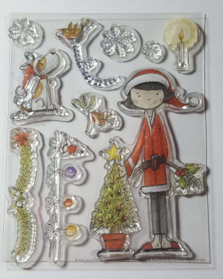 Living Creatively with Fibro | Papermania Lucy Cromwell At Christmas