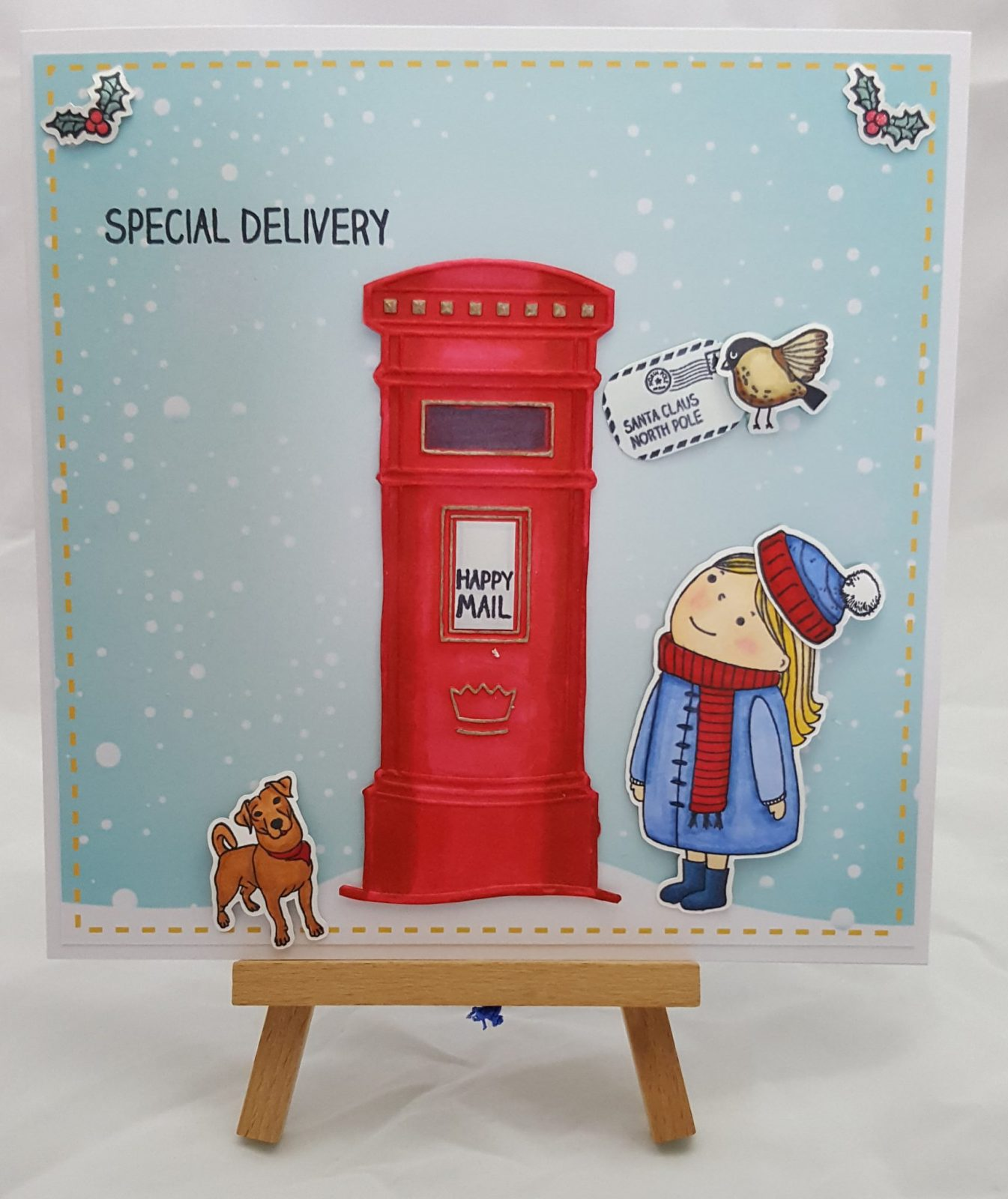 Sending Christmas Wishes Card