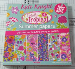 Living Creatively with Fibro | Totally Tropical Paper Pad