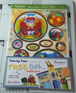 Living Creatively with Fibro | Two by Two Papercraft Kit