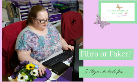 Living Creatively with Fibro - Susan Pearson