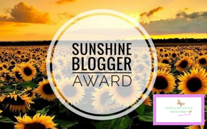 Living Creatively with Fibro | The Sunshine Blogger Award