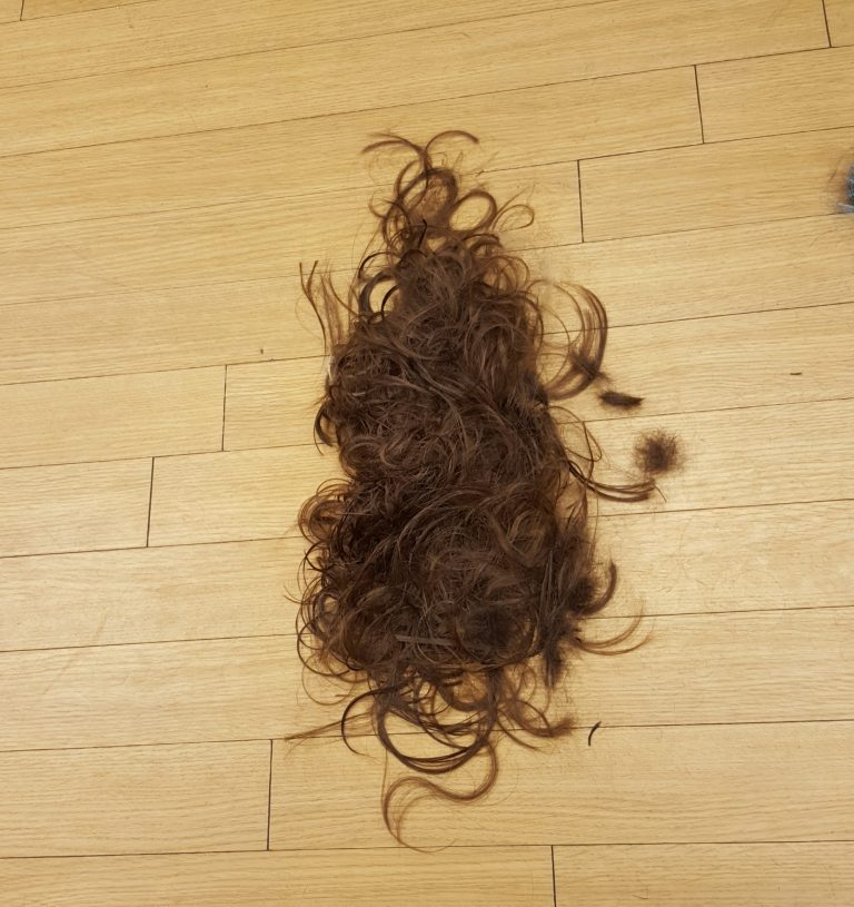 Living Creatively with Fibro | Hair cut off