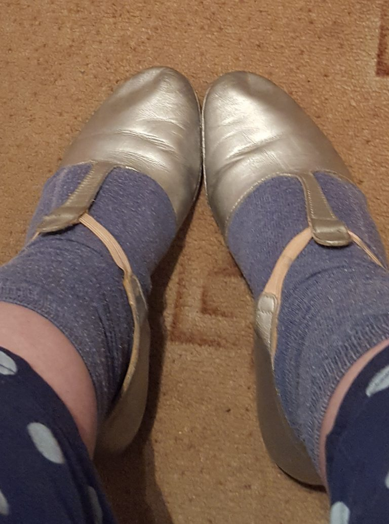 Living Creatively with Fibro   Jazz Shoes